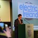 Jim Dollard, Electric Ireland speaking at the IHF conference in The Lyrath Estate, Kilkenny on Tuesday.