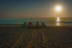 Waiting for the fun (martintimmann) Tags: sun beach fun sunrise boats germany timmendorf sony a77ii sigma art
