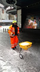 Winter Storm Stella - NYC DOT Snow Removal Efforts (NYCDOT) Tags: nycdot winterstorm timessquare