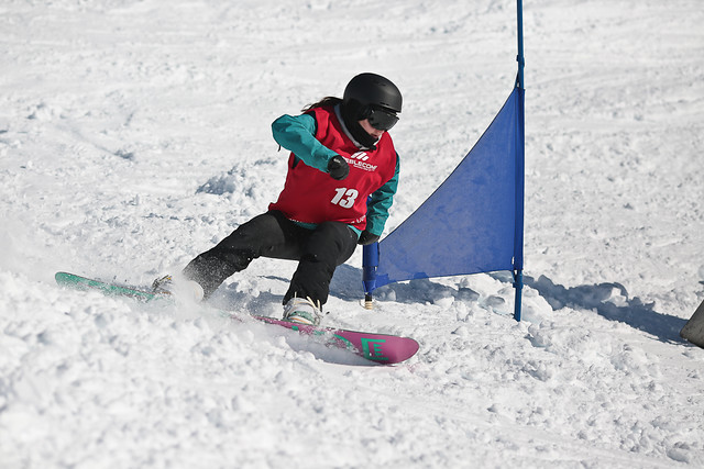DB Export Banked Slalom 2015 - Treble Cone - Adele Walker
