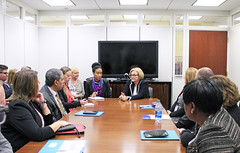 Missouri Coalition for Community Behavioral Healthcare Visits with McCaskill