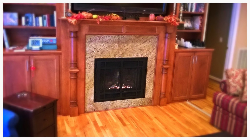 Mendota DXV-35 Direct Vent Fireplace. Chattanooga, Tn.