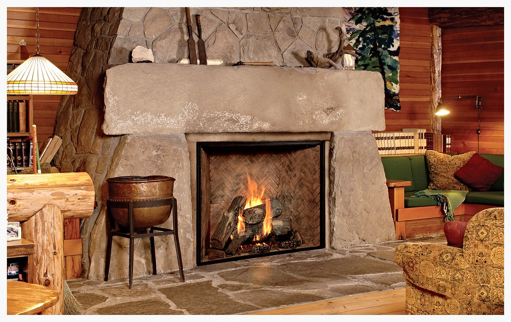 Town & Country TC54 direct vent fireplace