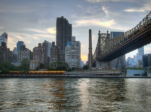 The East River from Roosevelt Island