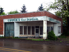 Chuck's Gas Station (Curtis Gregory Perry) Tags: usa abandoned broken station oregon america us junk rust pacific northwest decay or united neglected ruin rusty gas abandon forgotten vacant pacificnorthwest chuck service states smashed forsaken decrepit rejected chucks deserted decayed obsolete battered mistreated scottsmills