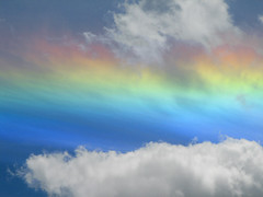 Circumhorizon Arc close-up (Carplips) Tags: sky nature weather clouds rainbow circumhorizonarc optics atmosphericphenomena