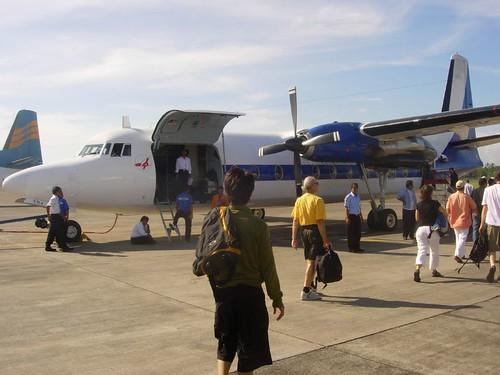 Avion a Labuan Bajo