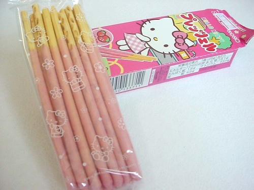 .: Hello Kitty Pocky Sticks.: