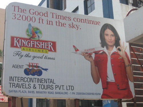 Kingfisher Airlines Billboard