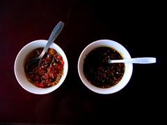 sambal Bali (Farl) Tags: travel bali food hot colors circle indonesia pepper