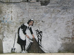 BANKSY in London (Camden)