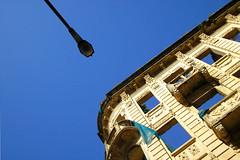 urbana 1 2 3 4 [5] (corbata1982) Tags: old blue sky building up azul brasil poste portoalegre pole bleu cielo prdio poa rs velho corbata1982