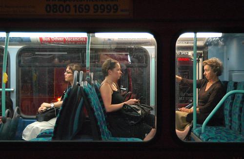 ladies on a tube