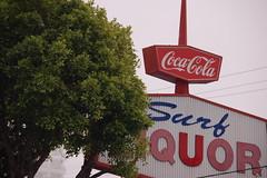 Surf Liquor (crakanyc) Tags: santa surf cola coke liquor monica coca