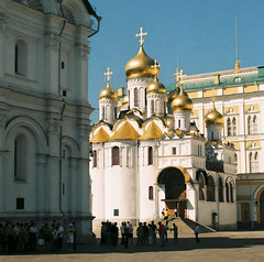 The Archangel Cathedral in the Kremlin