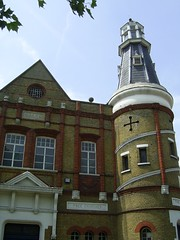 Lighthouse Methodist Church, Walthamstow (Richard and Gill) Tags: lighthouse london tower church architecture chapel methodist e17 methodism walthamstow nonconformist walthamforest