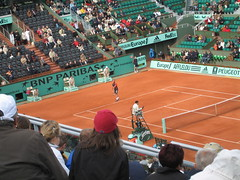 Marat Safin at the French Open (aloha_pineapple) Tags: paris france tennis rolandgarros grandslam frenchopen maratsafin frenchopen2006
