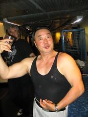 Hao Zhaobao (Pat Rioux) Tags: people circus staff artists acrobats cirque dralion aroundtheworld europeantour musclescirquedusoleil