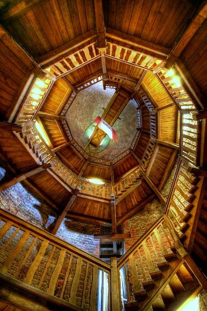 juliusturm - staircase
