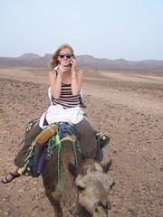 Nath sur un chameau