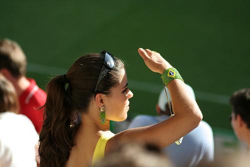 Hot Brasilian Fan