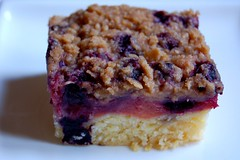 Quince and Blueberry Crumble Cake© by Haalo