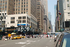 7th Avenue traffic by kevin813, on Flickr