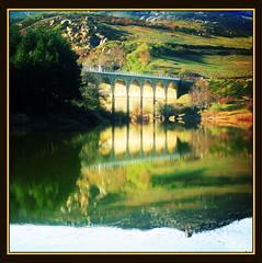 PUENTE (maryaben) Tags: bridge río rural river tren puente cantabria reflejos babel zubia iloveit 50v5f larobla 100vistas specnature fivestarsgallery maryaben