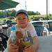 På golfbanen med Lille Søde Bamse