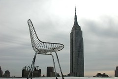 Location Scout - Empire State Building + Chair (Sam Rohn - 360 Photography) Tags: nyc newyorkcity sky usa skyline america photography photo interesting chair nikon manhattan empty location empirestatebuilding filmmaking filmproduction scouting filmlocation locationscouting locationscout filmlocations rohn filmscouting nylocations samrohn locationscouts filmscout