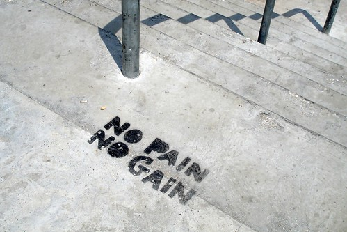 No pain, No gain by moostive, on Flickr