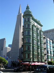 San Francisco (digital_freak) Tags: 2003 sanfrancisco building pyramid transamericapyramid digitalfreak