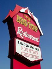 The Big Top Restaurant by pixeljones on Flickr!