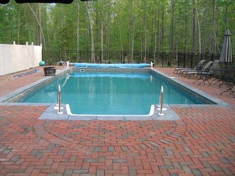 Pool Brick Work
