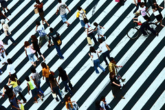 Crowd on a zebra crossing, Kyoto, Japan (Eric Lafforgue) Tags: japan kyoto asia cross  nippon asie japo japon giappone nihon jap japani nipon jepang japn  rayures japonia  japonya croisement  jepun hapon lafforgue  jaapan ericlafforgue japonsko lafforguemaccom  mytripsmypics ericlafforgue    wwwericlafforguecom  giapun   nhtbnnhtbn nhtbn  o
