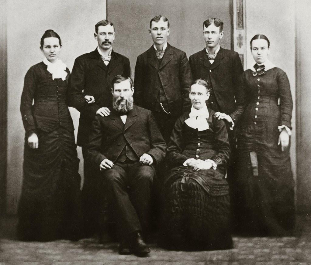 Hugh St.Clair family 1875