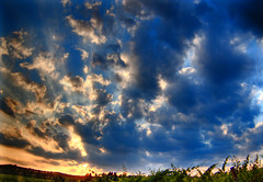 E' un tramonto toscano (ale2000) Tags: blue sunset sky white color colour nature clouds digital wow countryside die fuji country hill tuscany when photowalk hdr tuscan valdarno lookabove e900 andwhenidie