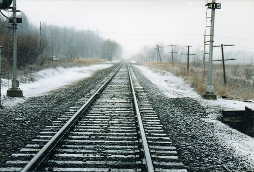 Train Tracks by Seth Melton