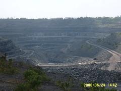 Coal mine Lake
