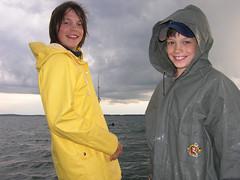 Brother Fishermen (sfPhotocraft) Tags: lake rain weather minnesota fishing fishermen grant mikey 2006 mn rainslicker millacs lakemillacs hooklineandsinkerfishingclub