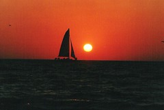 SAILING OFF INTO THE SUNSET (MIKECNY) Tags: sunset coolest