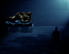 Pleasure & Pain (nailbender) Tags: art statue bronze photoshop pain moody surreal artmuseum pleasure magiccity bham nailbender jdmckinnon