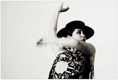 Triana Ol (stephubik) Tags: portrait people blackandwhite bw espaa music woman black art dance movement spain women dancers dress dancing live performance dancer espana spanish musica flamenco dynax5d ihatehdr