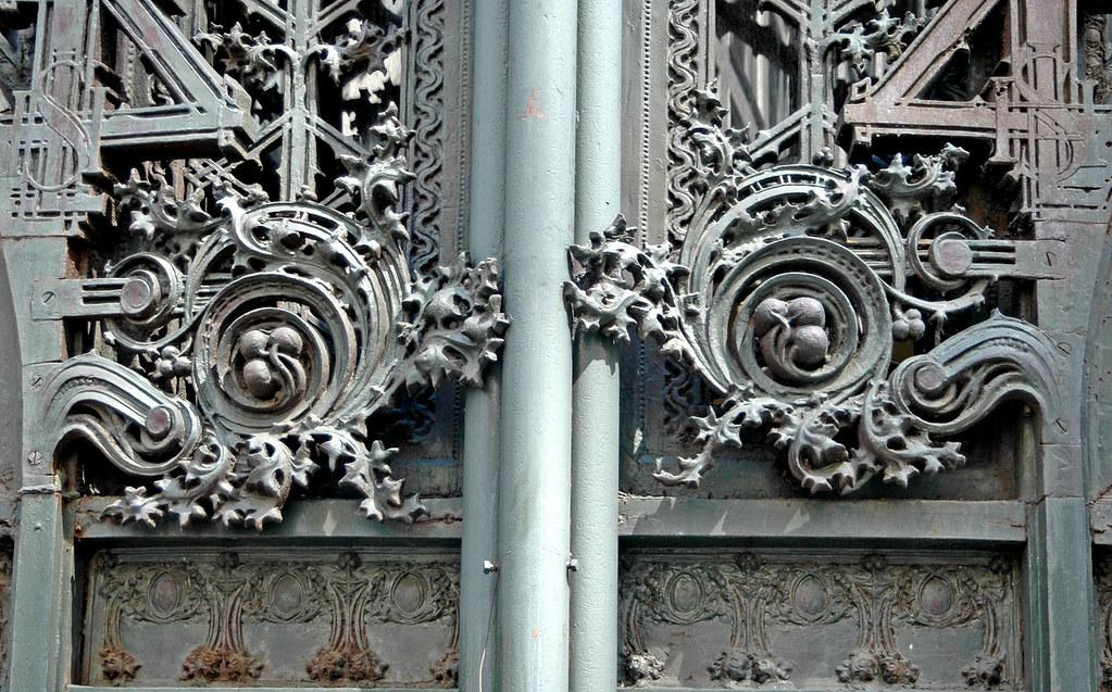 Sullivan Ornamentation Detail