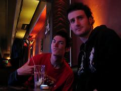 'Rotation' - 15th May '06 (Crittz) Tags: beer bar lowlight drinking social noflash auckland alcohol rotation nightlife dnb ponsonby drumnbass drumandbass safarilounge 2guys