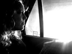 Car ride in Houston