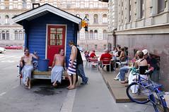 D2X_3589 Acid Kings' acid sauna (Vilhelm Sjostrom) Tags: finland geotagged lenstagged helsinki nikon artist live d2x sigma sigma30mmf14dc sauna erottaja kronan sigma30mmf14exdchsm mustavalkoinen acidkings tsot barerottaja tyylisinussaolityyli tsot06 movingsauna 30mmf14ex cvilhelmsjstrm wwwmustavalkoinenfi