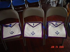 Masonic aprons by Golden Striker