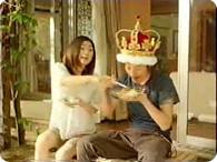 篠原涼子、塚本高史_LAWSON『ネバネバ変身 篇』