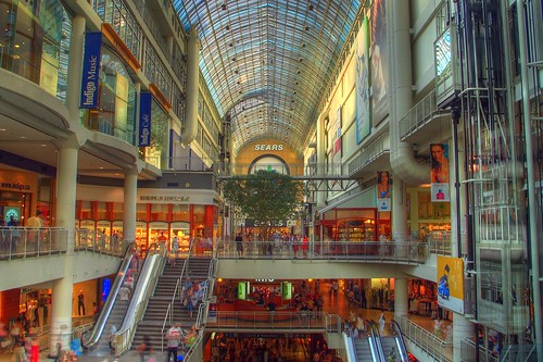 Eaton Centre HDR style